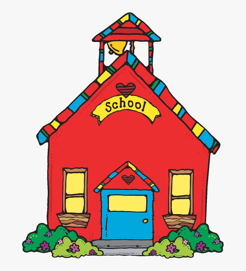 School Blog Clip Art - Cute School Clipart, HD Png Download , Transparent  Png Image - PNGitem