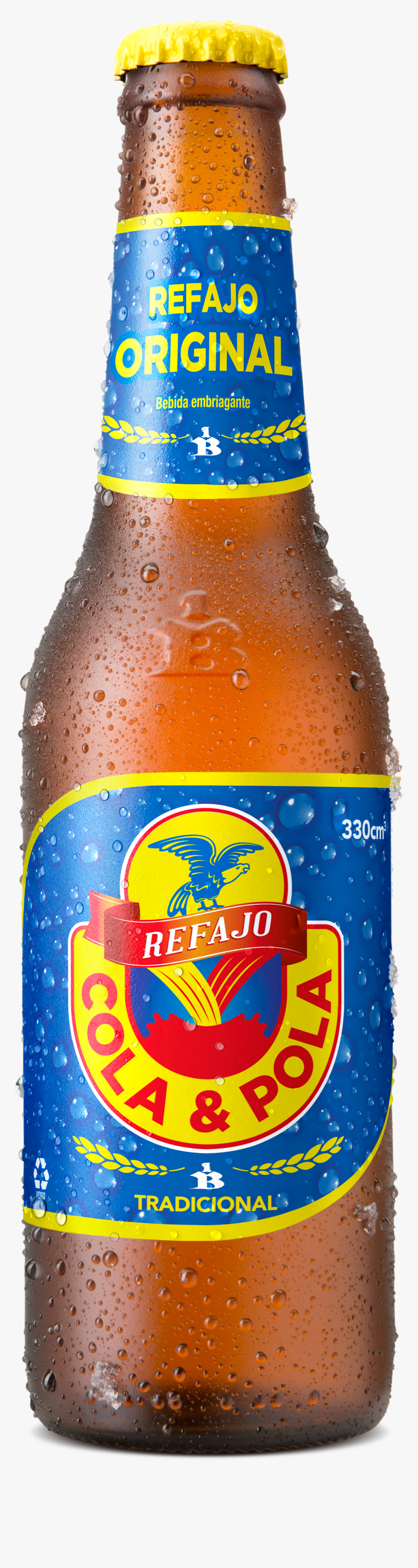 Botella De Cerveza Cola Y Pola Hd Png Download Transparent