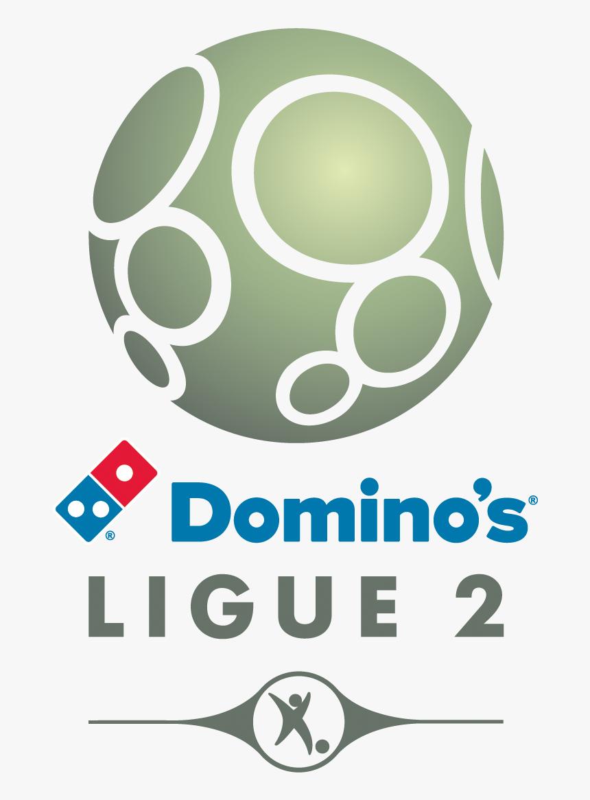 Dominos Logo Png - Logo Domino's Ligue 2, Transparent Png , Transparent Png  Image - PNGitem