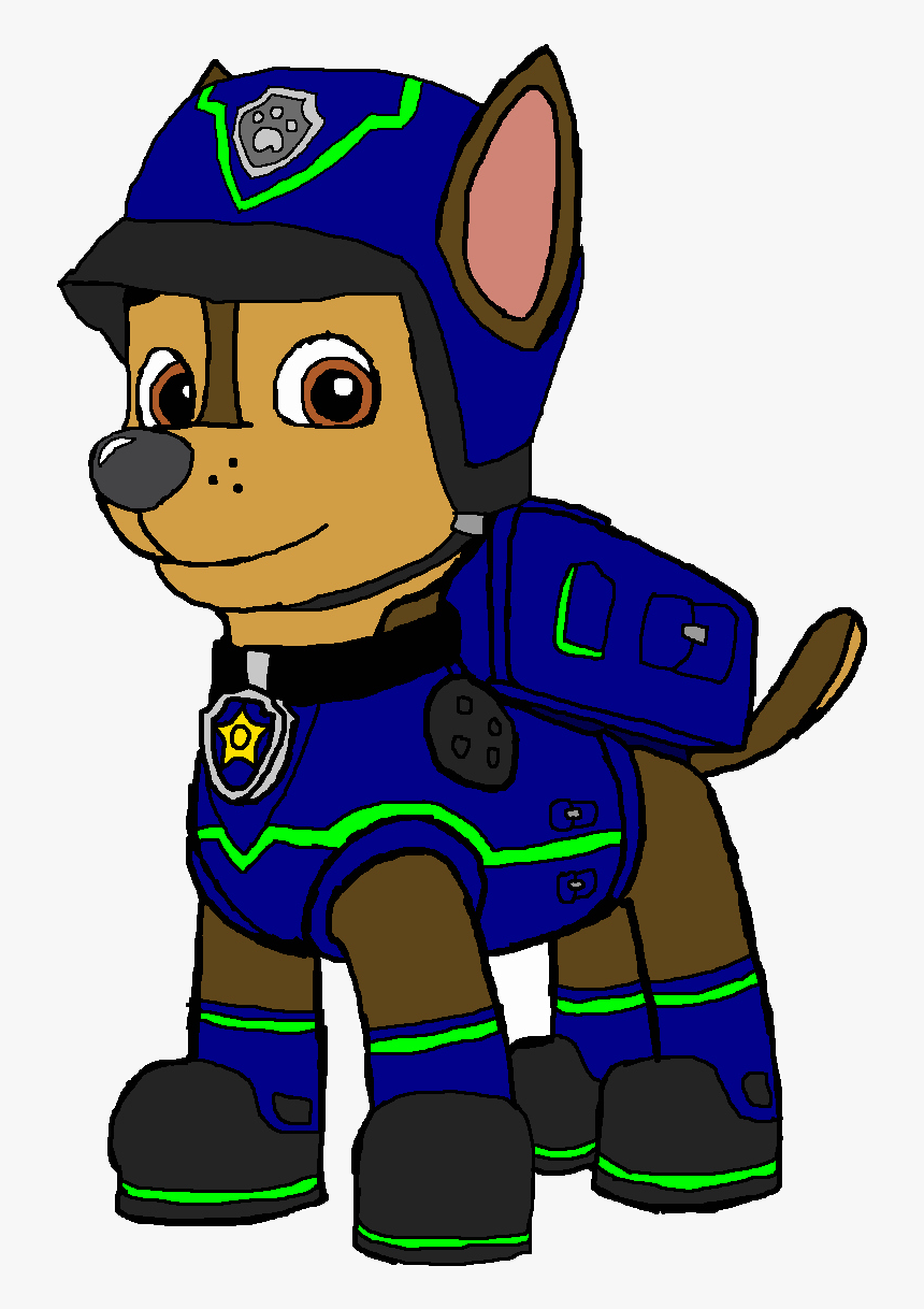 Paw Patrol Disegni Da Colorare Chase Head Clipart Free Spy Chase From Paw Patrol Hd Png Download Transparent Png Image Pngitem