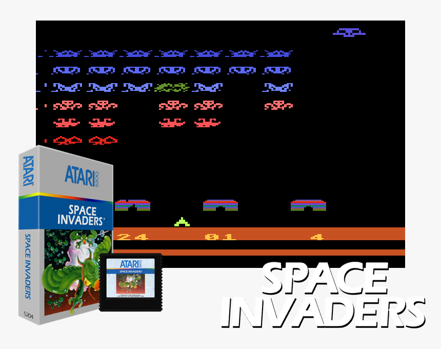 Space invaders text png download 1200*630 free transparent.
