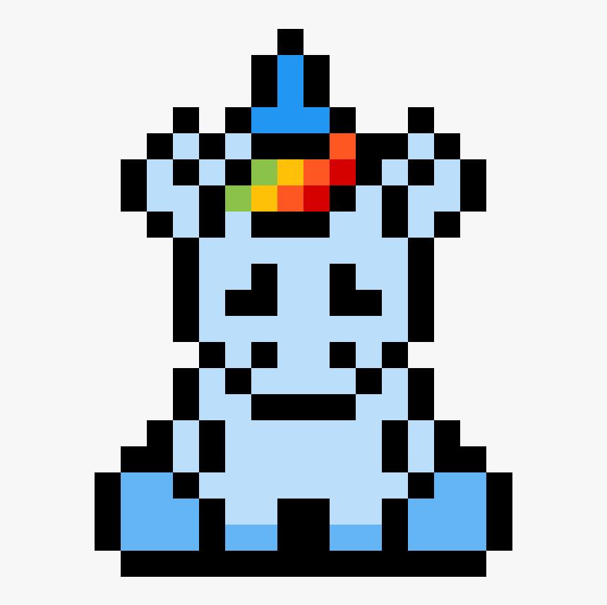 My Friend Bre Pixel Art Facile Licorne Hd Png Download