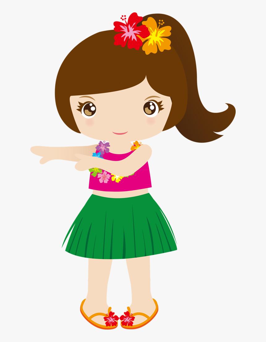 Cg050 Hawaiian Girl Clipart Png Transparent Png Transparent Png Image Pngitem