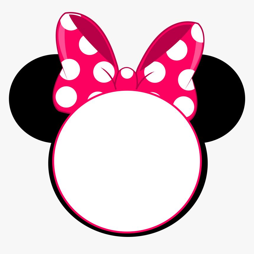 Minnie Mouse Head Invitation Hd Png