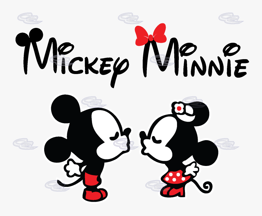 Mickey E Minnie Logo Png Download Mickey And Minnie Name