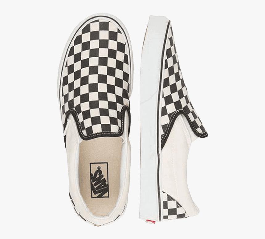 Shop Vans Classic Slip-ons Black/white