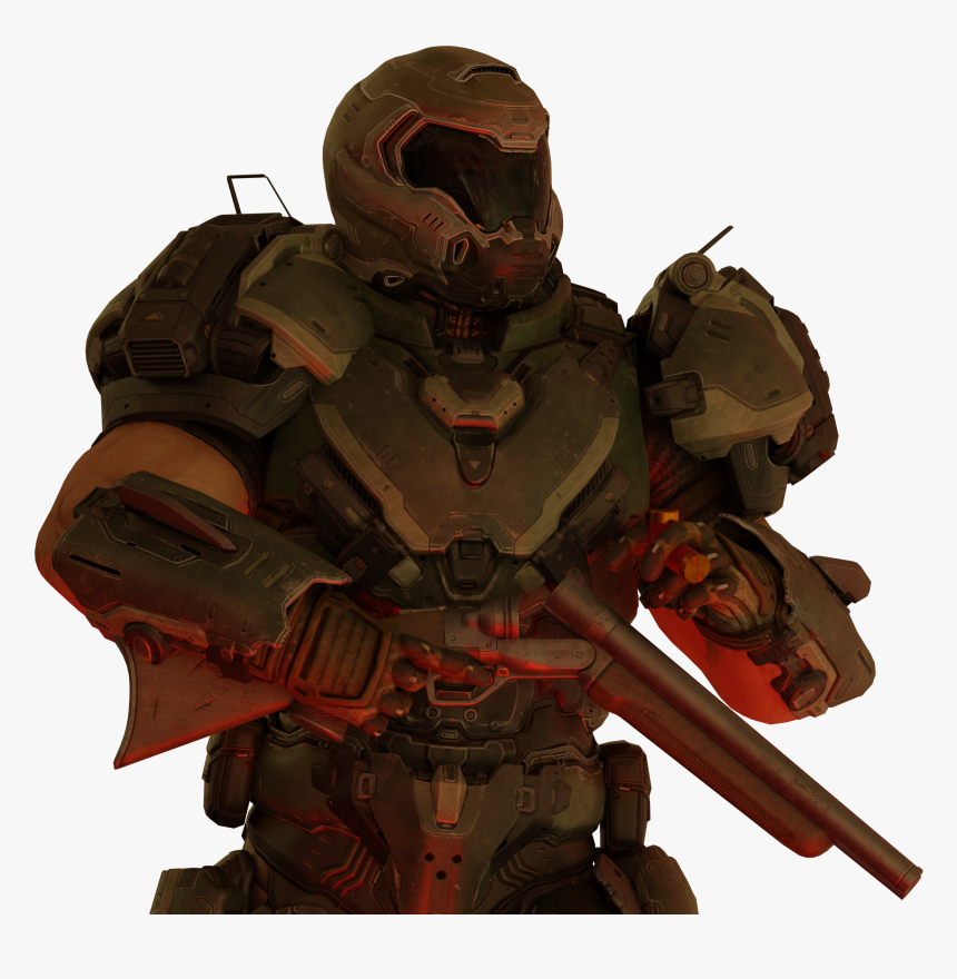 Clip Art Doom Eternal Doomguy Transparent Png Of Doomguy Png