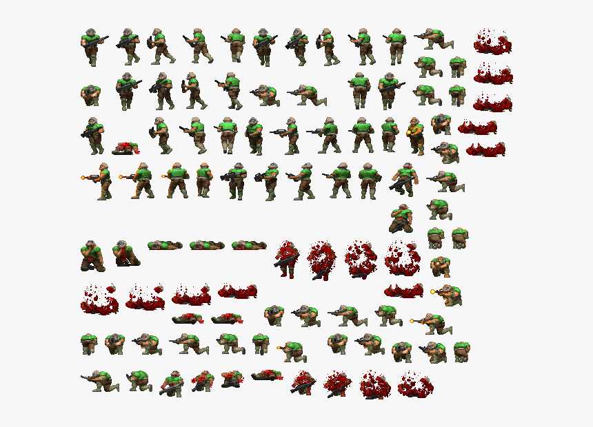 Doom Sprites Hd Png Download Transparent Png Image Pngitem