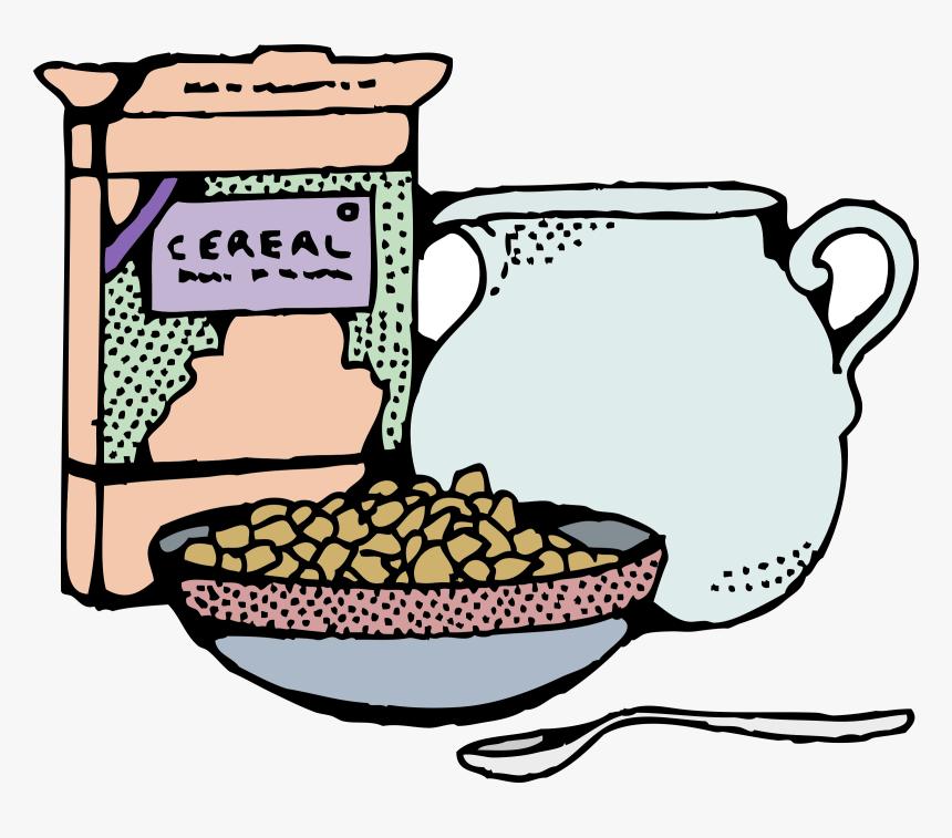 Frühstück-Müsli-Corn-flakes-Milch-clipart - Schüssel Cliparts png  herunterladen - 600*507 - Kostenlos transparent Küche png Herunterladen.