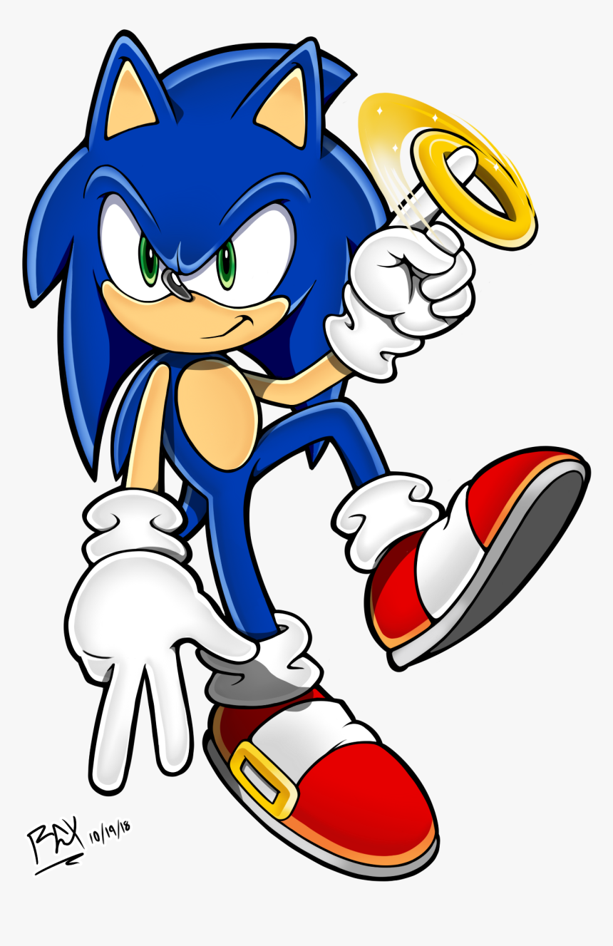 Sonic With Ring Hd Png Download Transparent Png Image Pngitem