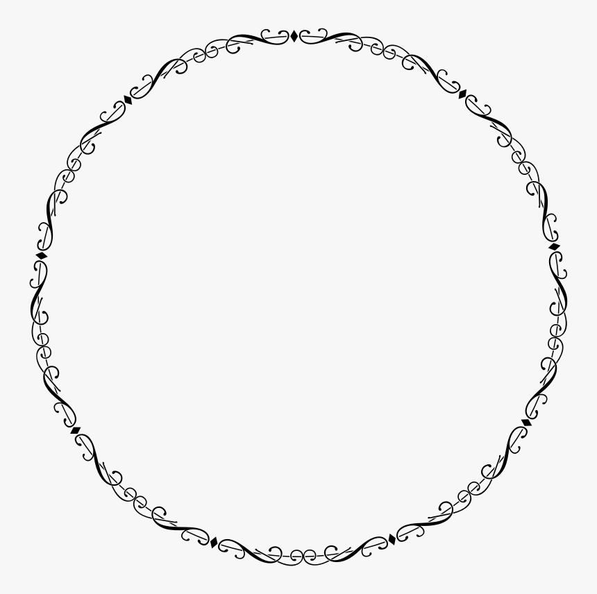 border circle png fancy elegant frame - circle png border elegant, transparent