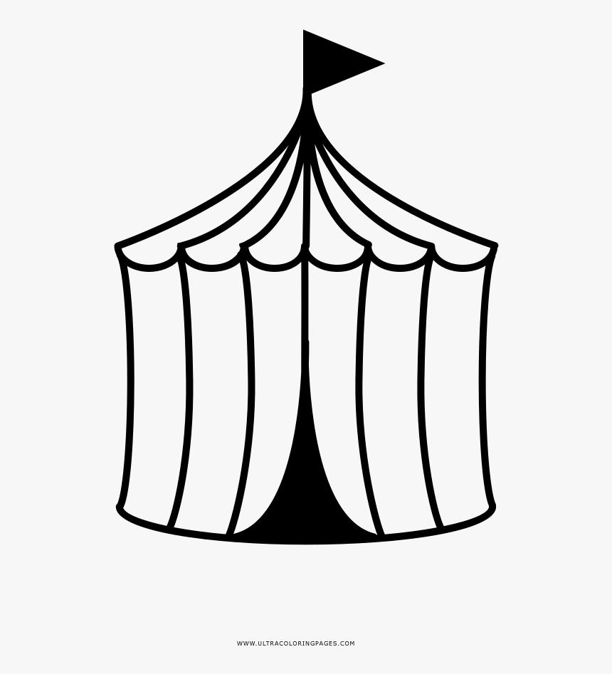 Circus Tent Coloring Page Desenho Da Tenda Circo Para Colorir