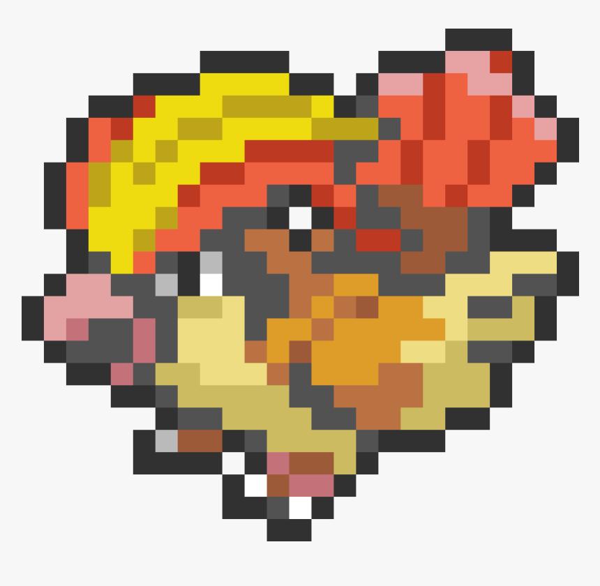 Pidgeotto Pixel Art Png Pokemon Pixel Art Pidgeot