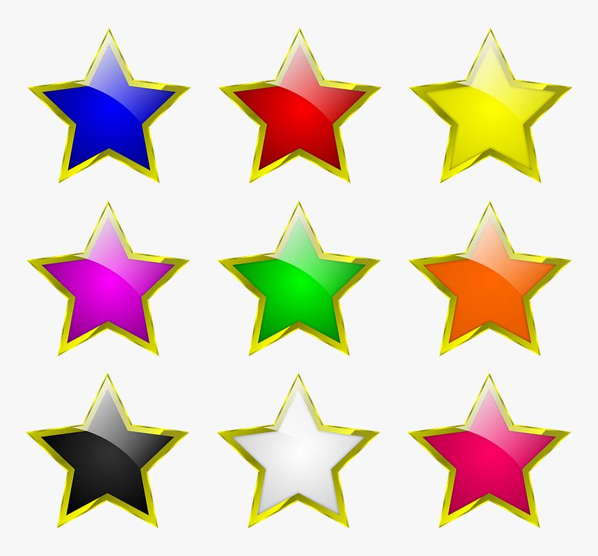 Stars, Colours, Colors, Star, Design, Shape, Colorful ...
