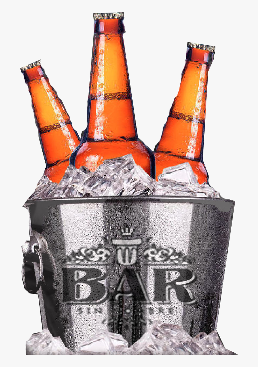 Transparent Cubetazo Png Beer In Ice Bucket Png Download