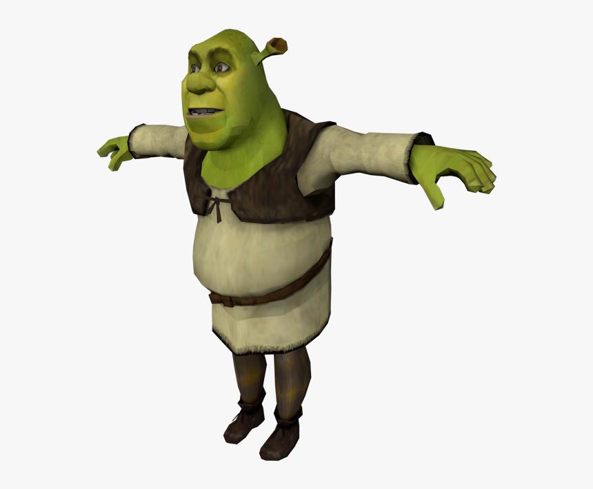 Shrek Face Png Shrek T Pose Transparent Png Download Transparent Png Image Pngitem