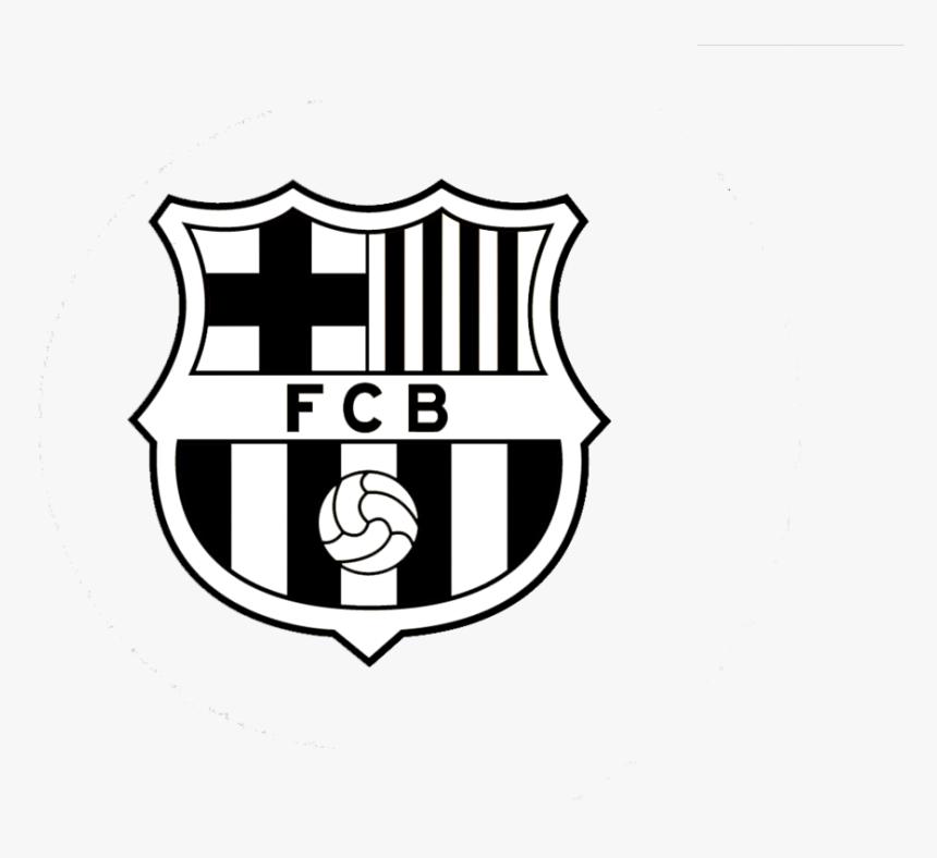 Barca Logo Png Fc Barcelona Black And White Transparent Png Transparent Png Image Pngitem