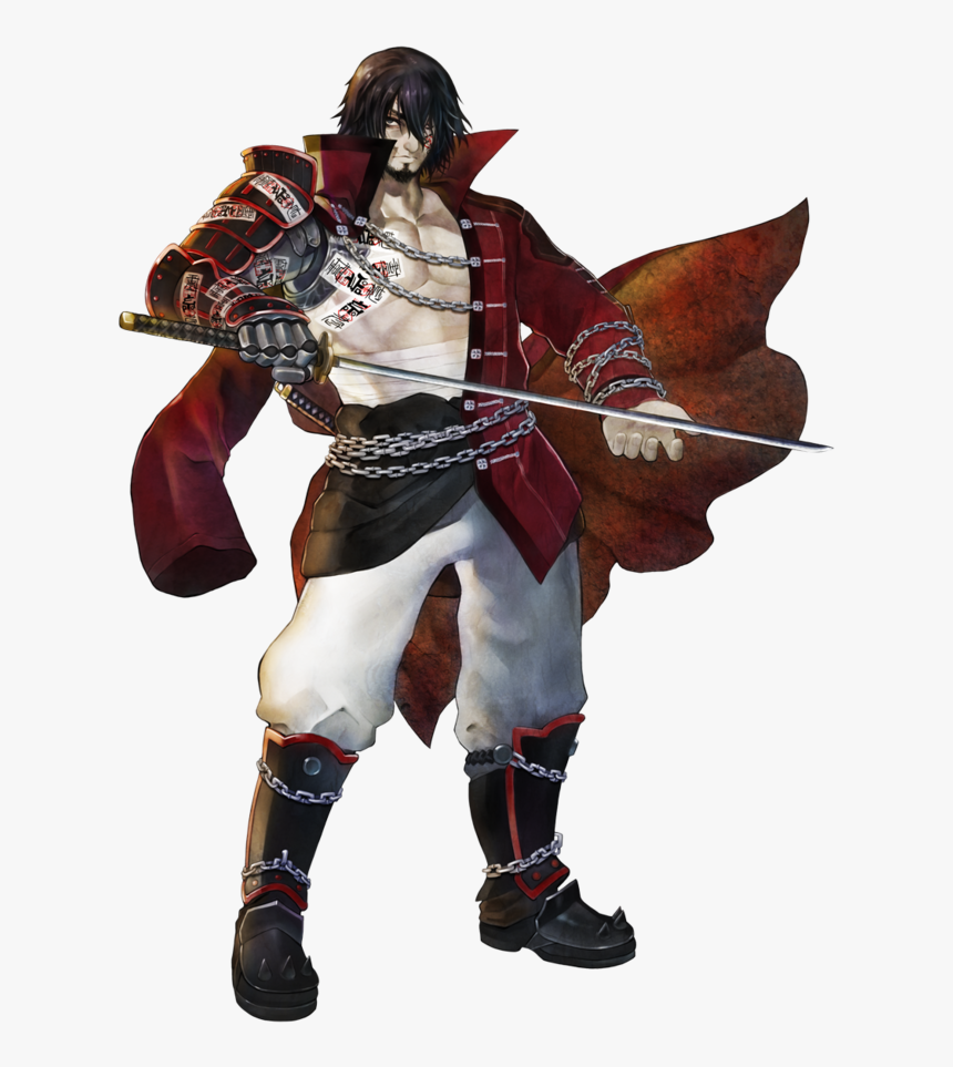 Zangetsu Bloodstained Ritual Of The Night Hd Png Download Transparent Png Image Pngitem