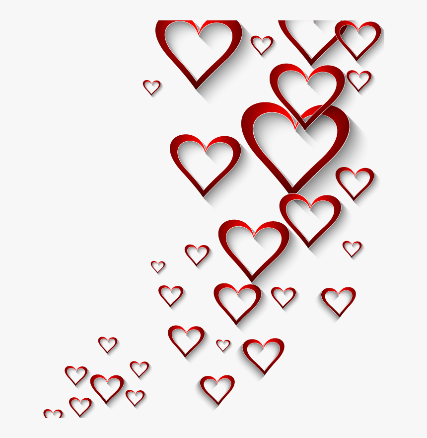 Valentines Day Heart Wallpaper Love Heart Background Png
