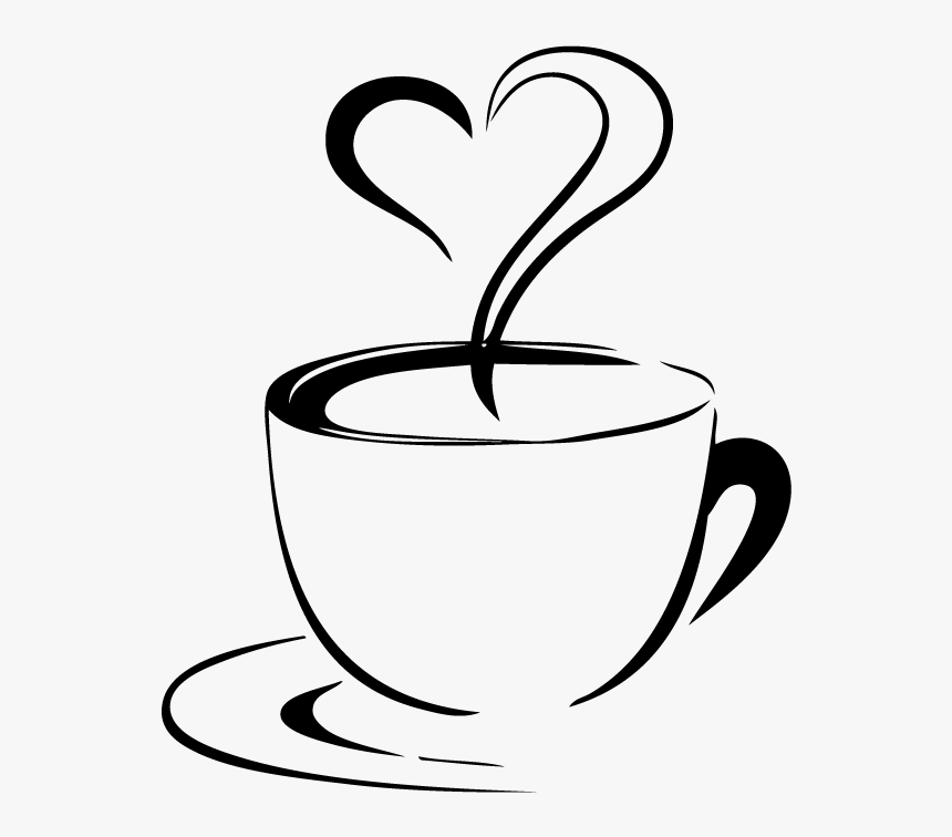 Palm Beach Bakery & Cafe Clipart , Png Download - Coffee Cup With Heart, Transparent Png ...