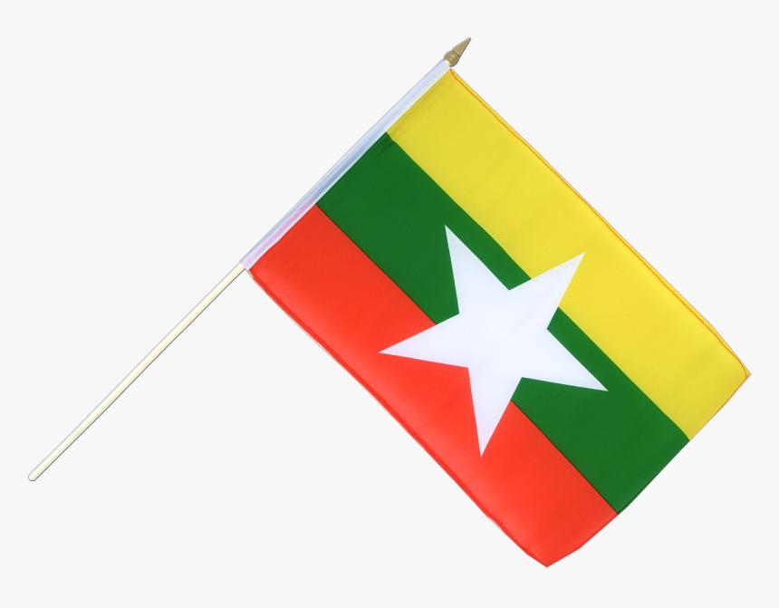 Myanmar New Hand Waving Flag Myanmar New Flag Hd Png Download Transparent Png Image Pngitem