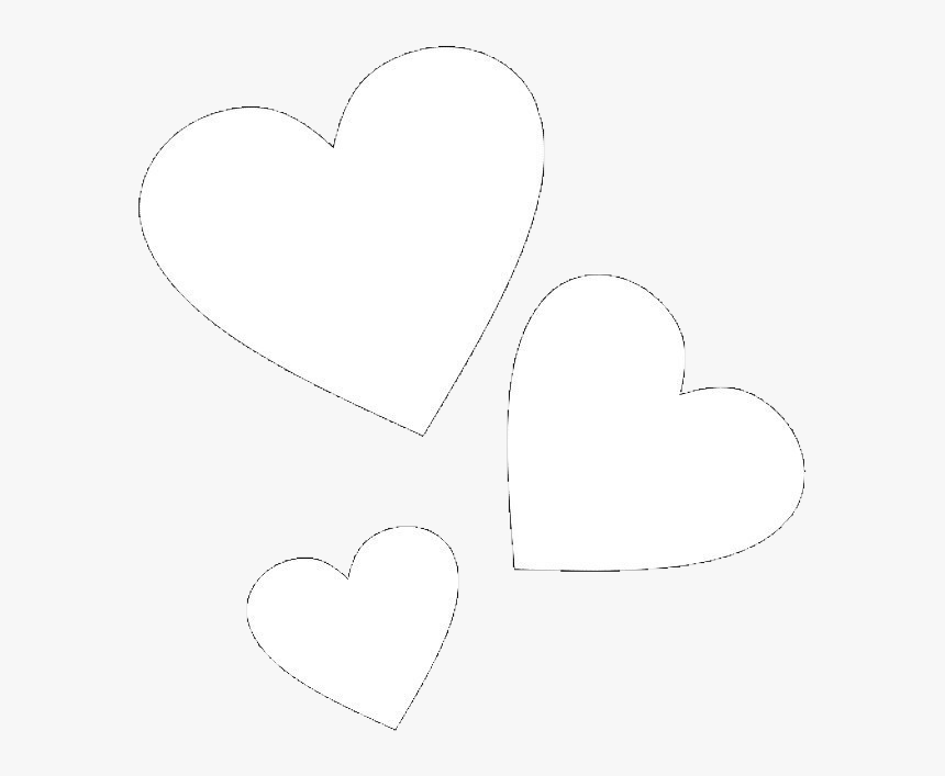 Hearts Love White Kpop Tumblr Aesthetic Freetoedit Aesthetic Heart Black Background Hd Png Download Transparent Png Image Pngitem