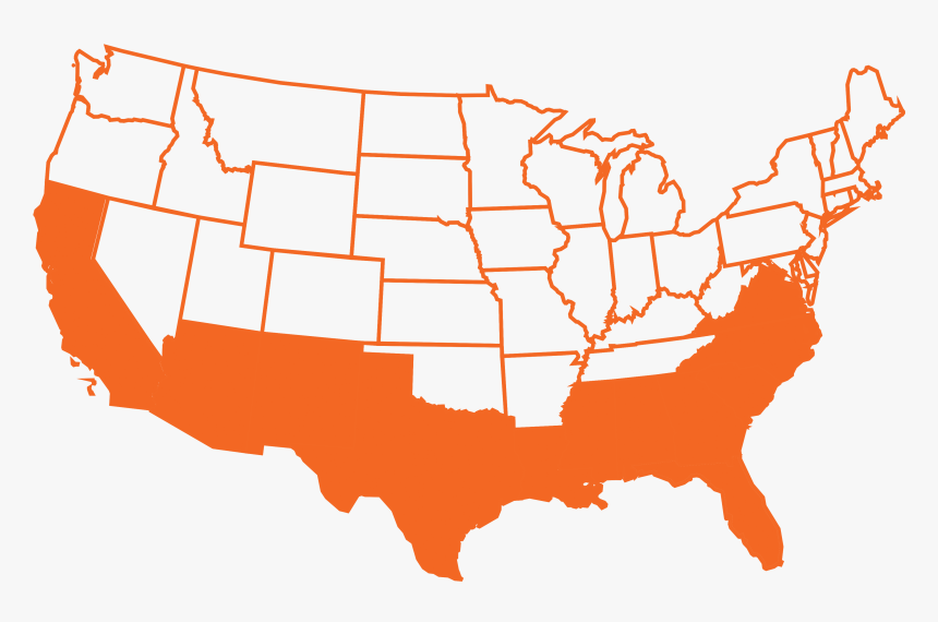 Map State Outlines Usa Istock 626530002 [converted] - Blank ...