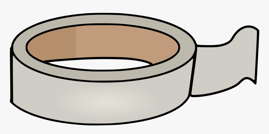 Line Art,cylinder,adhesive Tape - Clip Art Masking Tape, HD Png ...