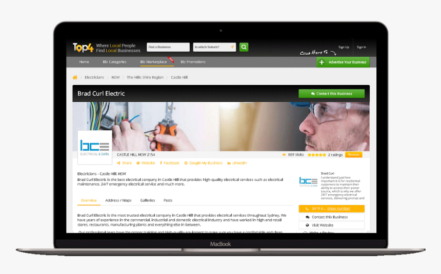 Electrical Company Castle Hill Web Design Hd Png Download Transparent Png Image Pngitem