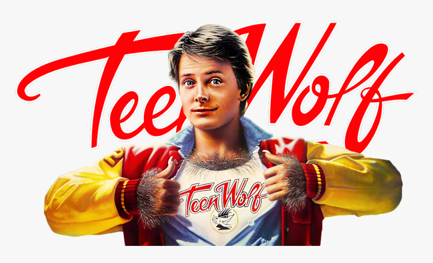 Teen Wolf Image - Teen Wolf 1985 Poster, HD Png Download ...