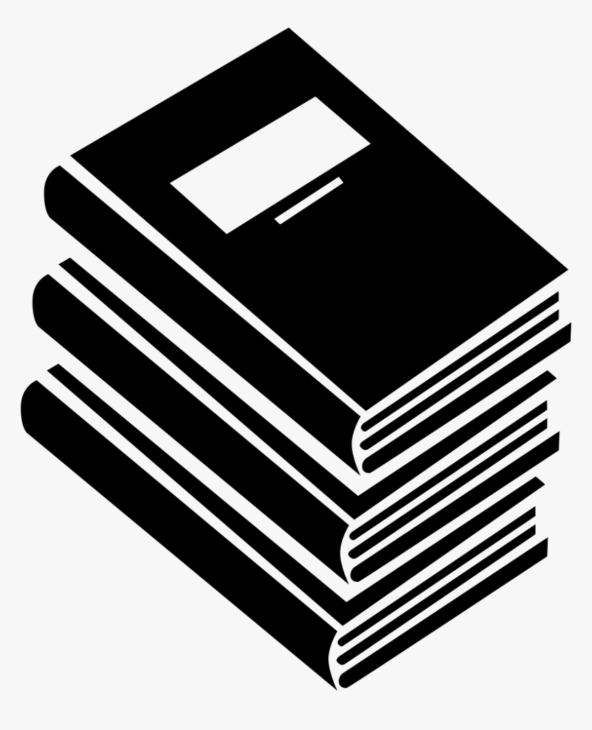 books icon png transparent stack of books clipart free - stack book icon