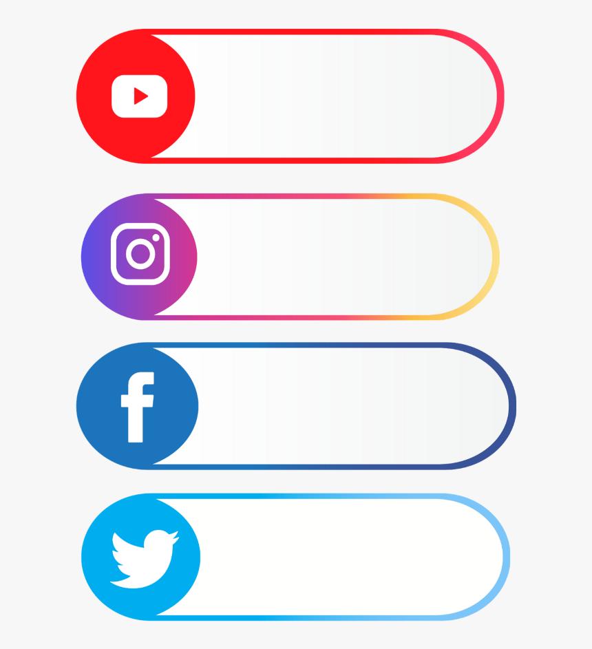Tag Social Media Youtube Twitter Instagram Facebook Circle Hd Png Download Transparent Png Image Pngitem