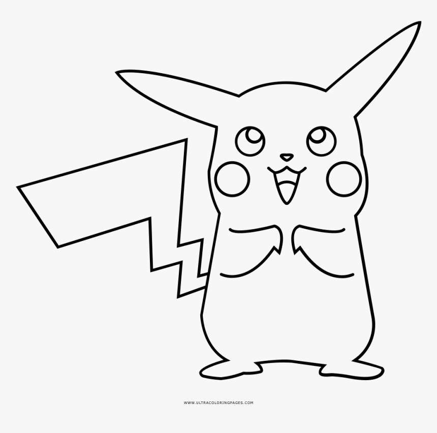Pikachu Coloring Page Pikachu Em Desenho Para Colorir Hd Png