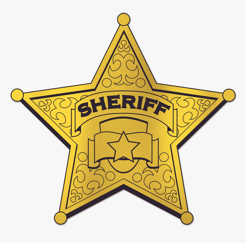 It's just a graphic of Printable Sheriff Badge in deputy sheriff