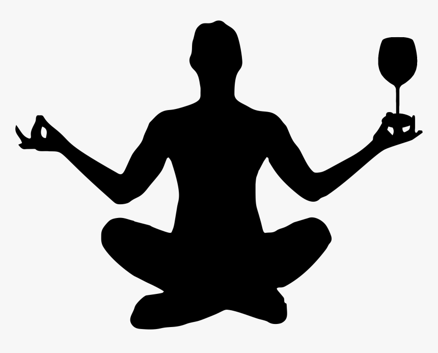 Yoga Silhouette Physical Fitness Yogi Man Meditation Pose Silhouette Hd Png Download Transparent Png Image Pngitem