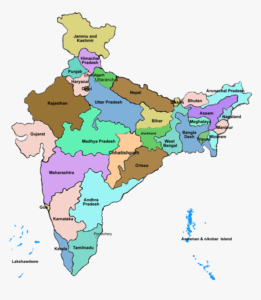28 states of india map Transparent India Map Png 28 States Of India In Map Png 28 states of india map