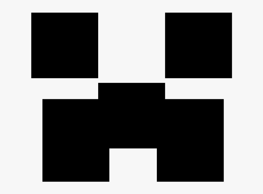 transparent background creeper minecraft logo