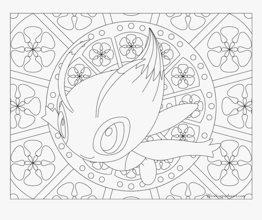 Mandala Pokemon Coloring Pages Hd Png Download Transparent Png