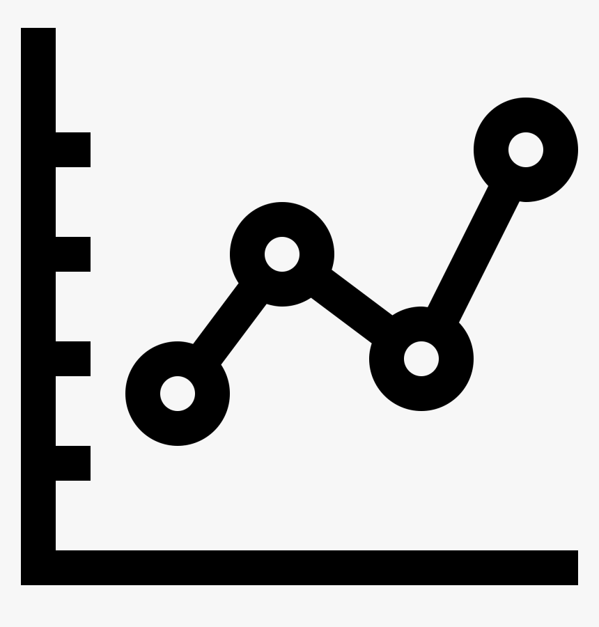 Transparent Graph Icon Png Line Chart Icon Png Download