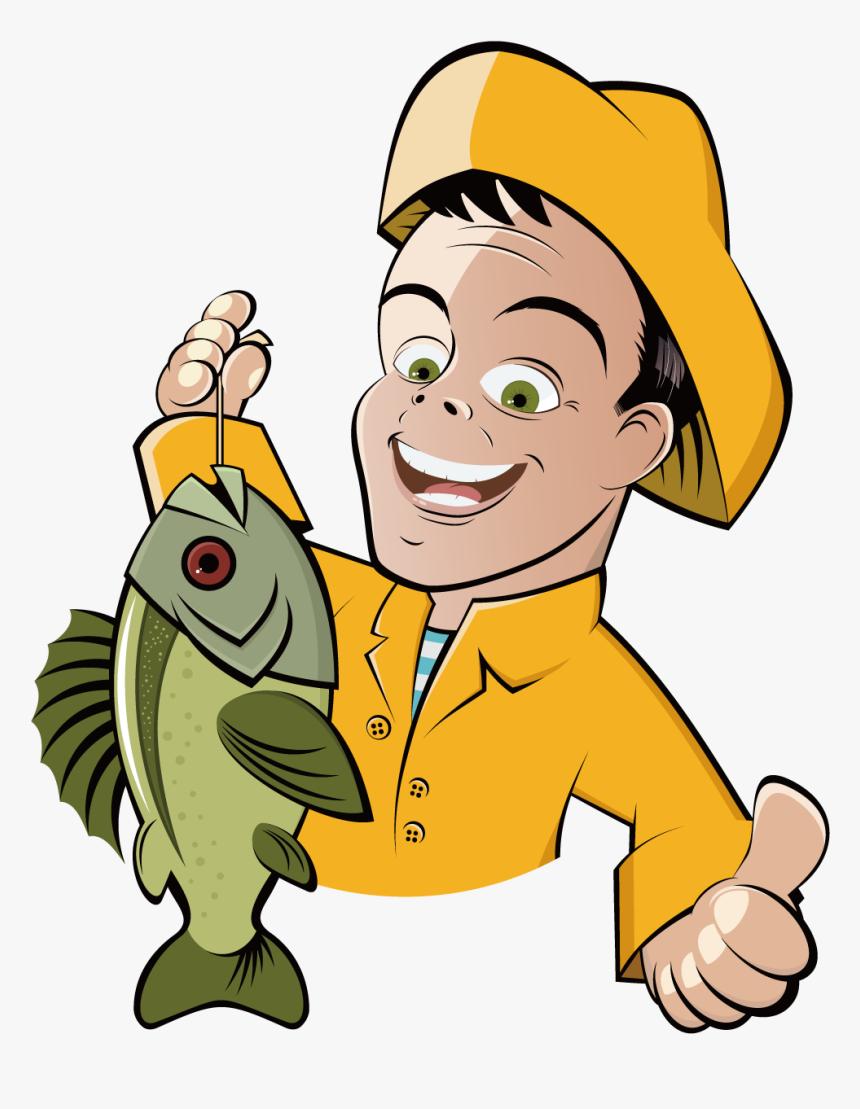 рыбалка картинки мультяшные все