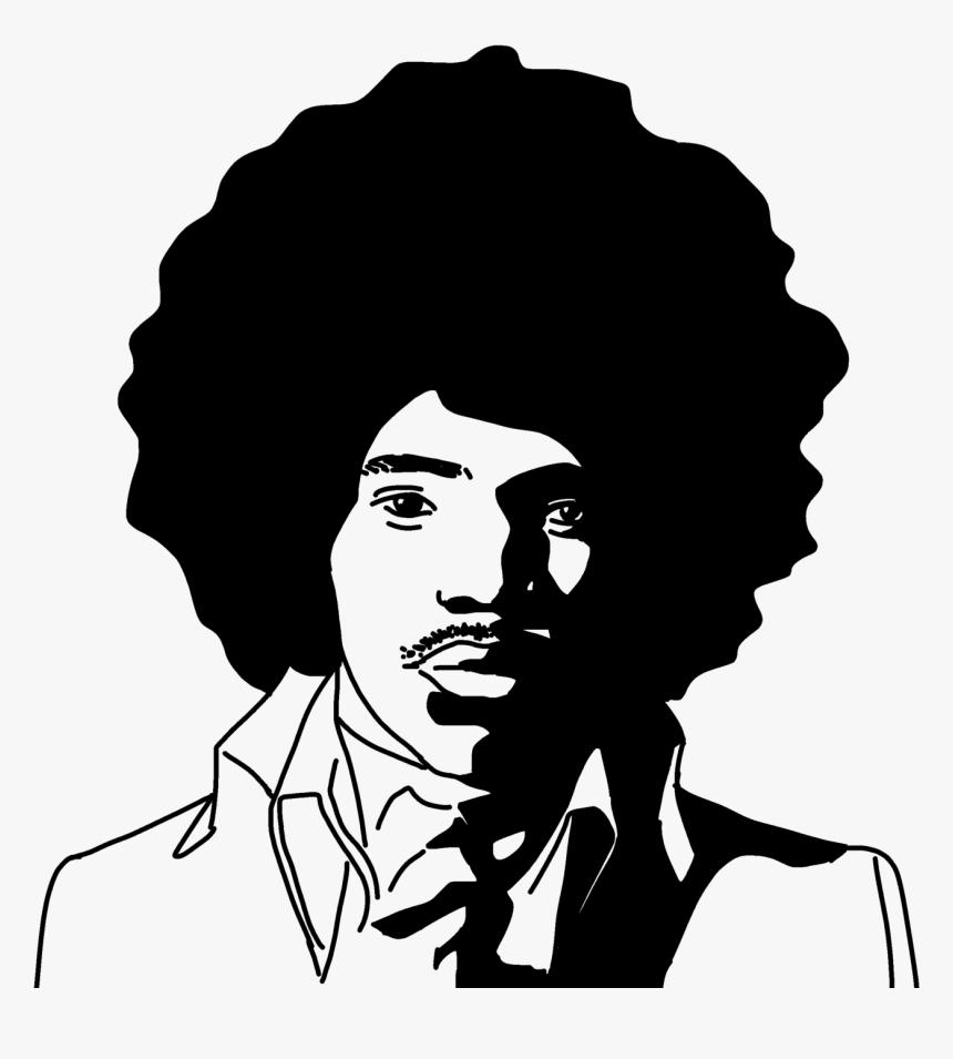 Jimi Hendrix Silhouette Transparent Hd Png Download Transparent Png Image Pngitem