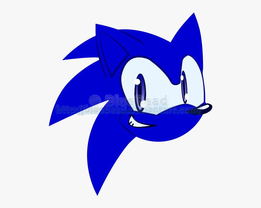 Sonic The Hedgehog Head Icon Hd Png Download Transparent Png Image Pngitem