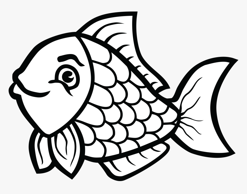 clip art transparent download of fish in black and fish clipart black and white hd png download transparent png image pngitem fish clipart black and white hd png