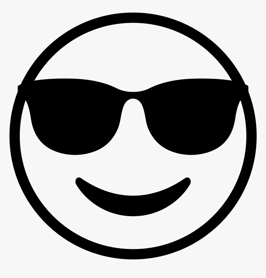 Smiley Face Black And White 24, Buy Clip Art - Black And ...