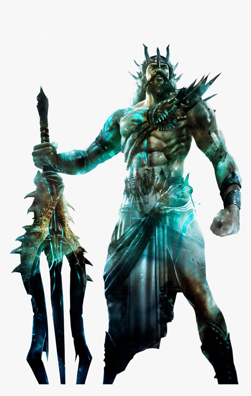 Transparent Poseidon Clipart Poseidon God Of War Hd Png