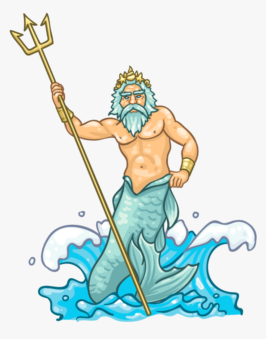 Collection Of Free Poseidon Drawing Neptune Download