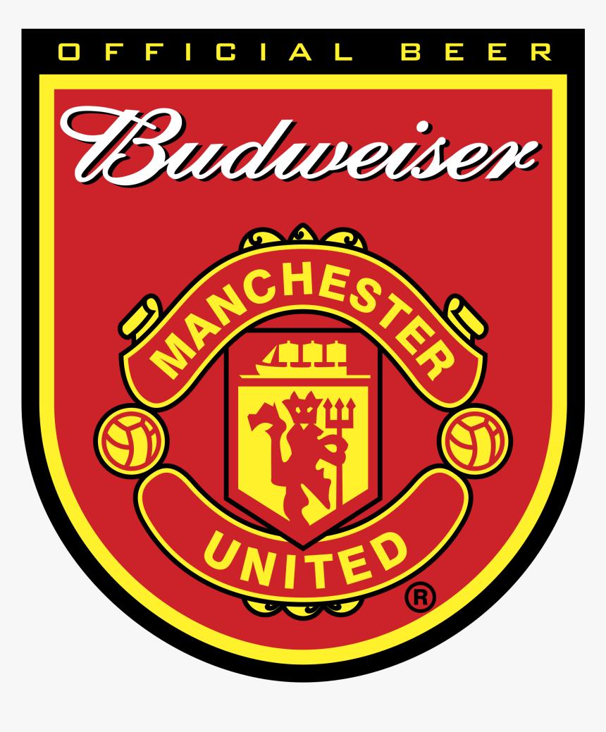 Budweiser Manchester United Logo Png Transparent Man U Logo Vector Png Download Transparent Png Image Pngitem