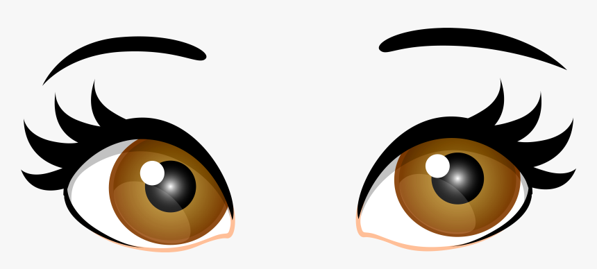 28 Collection Of Eye Clipart Transparent Cartoon Girl Eyes Png
