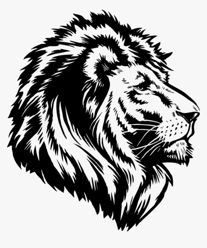 Lion Png Logo Black And White Lion Transparent Png Download Transparent Png Image Pngitem Illustration of the logo of the head of a black and white lion king of lions a wild animal with a white background. black and white lion transparent png