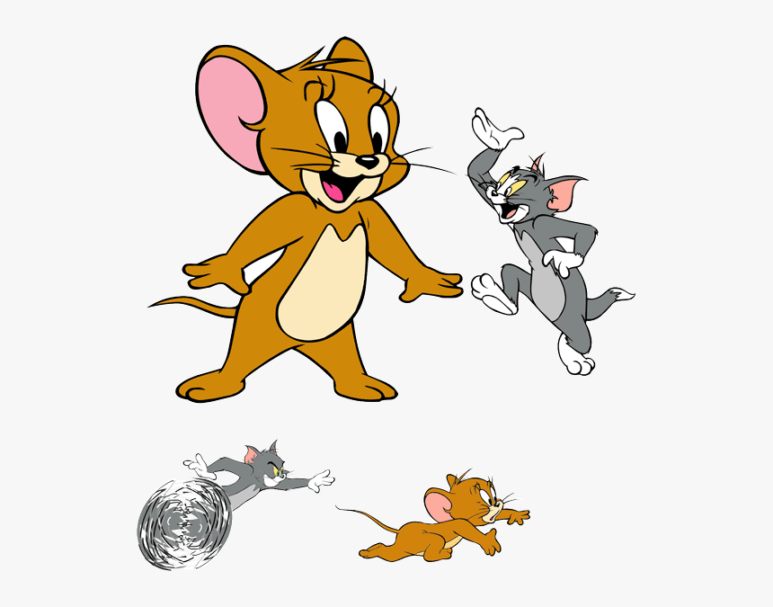 Tom And Jerry Tom Y Jerry Vectores Hd Png Download